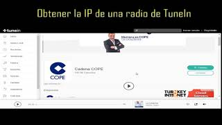 Obtener la IP de una Radio de TUNEIN