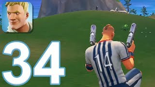 Fortnite - Gameplay Walkthrough Part 34 - New Update Dual Pistols (iOS)