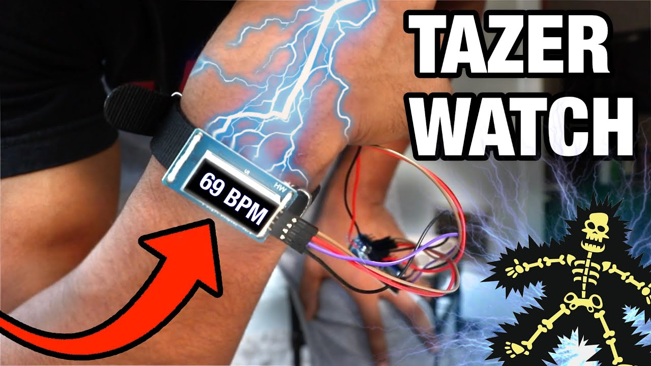 I Made a Tazer Watch to Lose Weight
