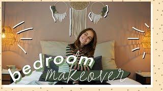 Boho Schlafzimmer Makeover + Roomtour | SNUKIEFUL