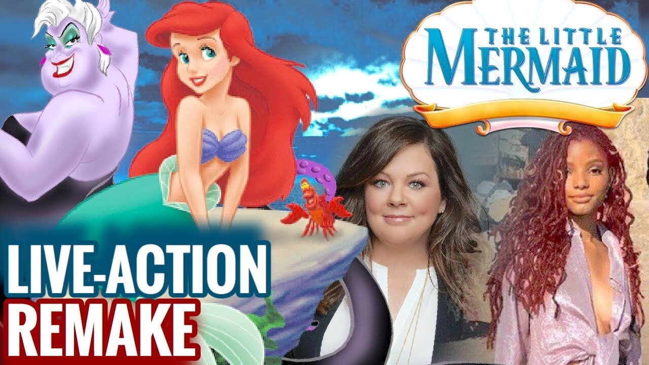 cast of the little mermaid 2020