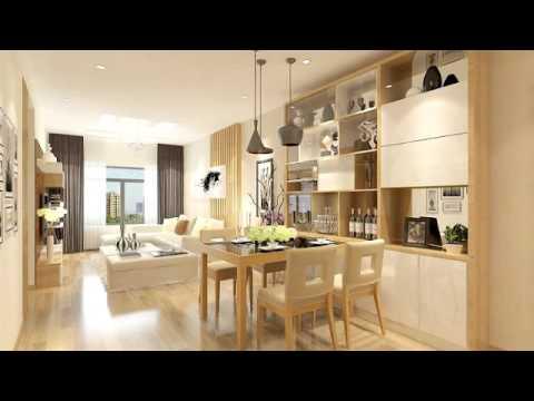 Thiết kế nội thất chung cư 70m2 đẹp hiện đại