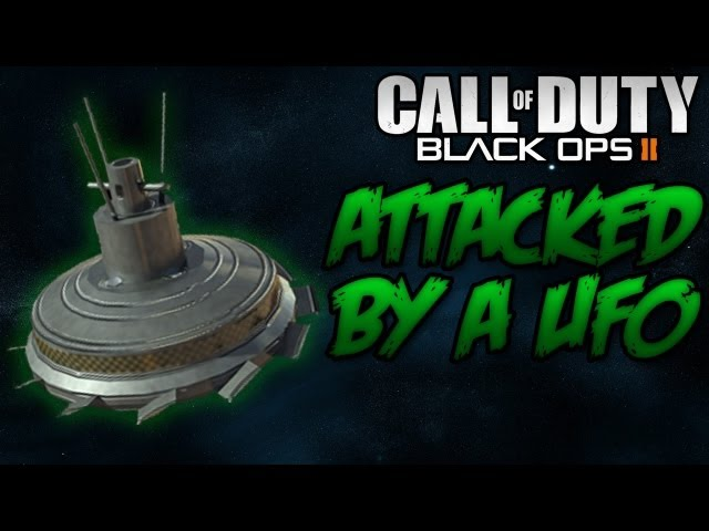 Attacked by a UFO! Call of Duty: Black Ops 2 [PC]