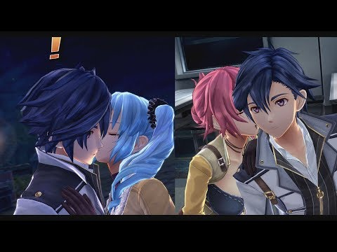 Trails Of Cold Steel 3 - Claire & Sara X Rean Moment