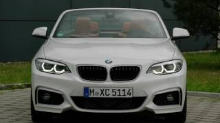 2018 BMW 220d Convertible M Sport Package exterior design