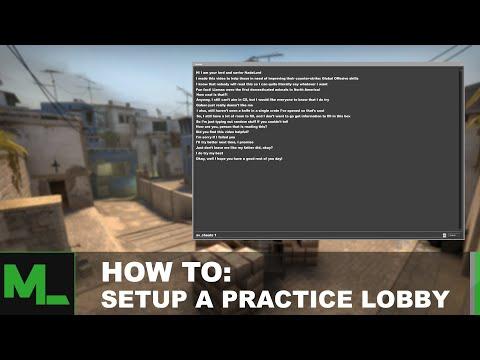 How To: Setup A Practice Lobby (Panorama UI)