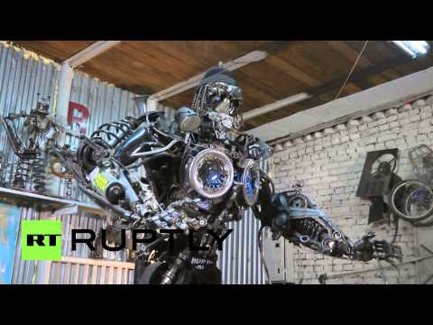 Russia: This Siberian man built his own robot army
