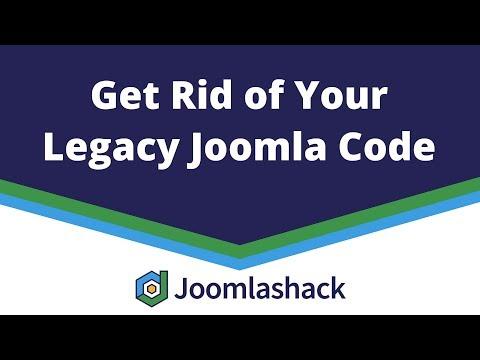 Get Rid Of Your Legacy Joomla Code With Viktor Vogel