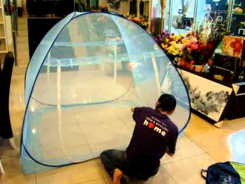 Portable mosquito net_by QIQI COLLECTION