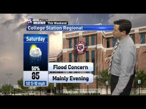 NCAA College Station Regional Weather Forecast