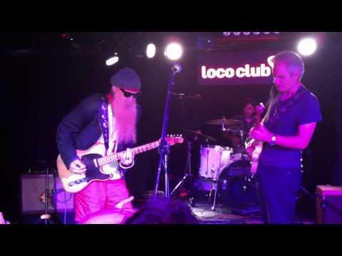 3 HOMBRES + 4º HOMBRE BILLY GIBBONS (ZZ TOP) LIVE LOCO VALENCIA