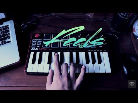 Feels - Calvin Harris feat. Pharrell Williams, Katy Perry (Instrumental Remake) with Akai MPK Mini2