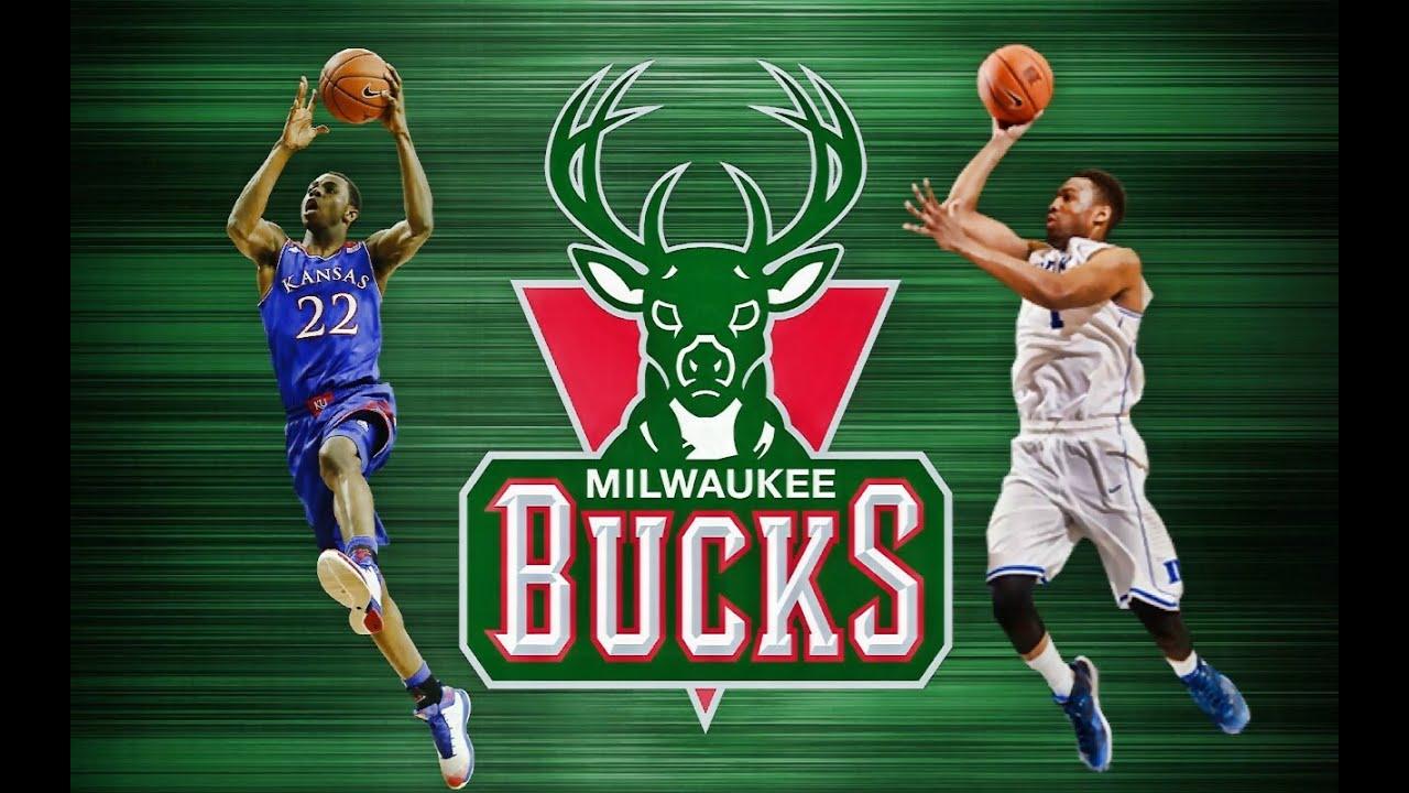 NBA 2K14 MyGM - Milwaukee Bucks - Andrew Wiggins and ... Jabari Parker Nba 2k14