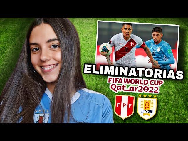 URUGUAY vs PERÚ   Reacción de HINCHA URUGUAYA   Eliminatorias Qatar 2022
