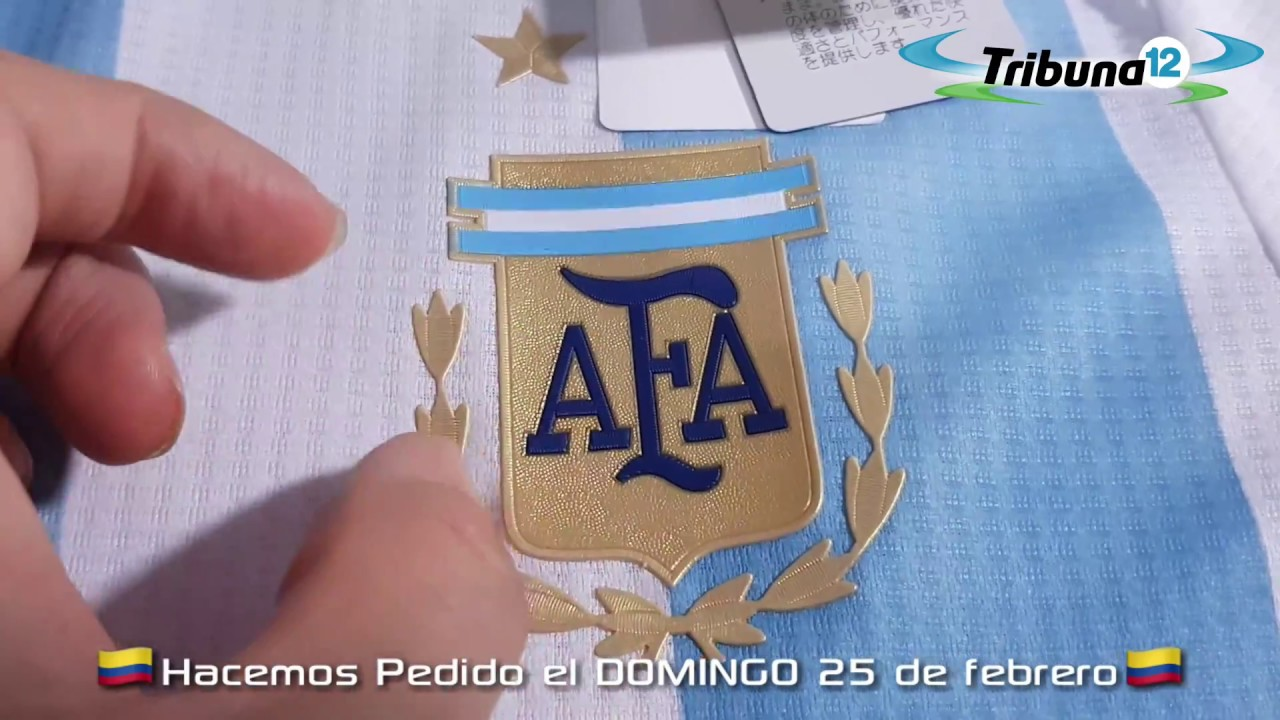 Camiseta titular de Argentina climachill - YouTube 01787f219f80f