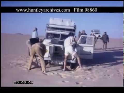 Sahara Desert Niger, 1970s - Film 98860