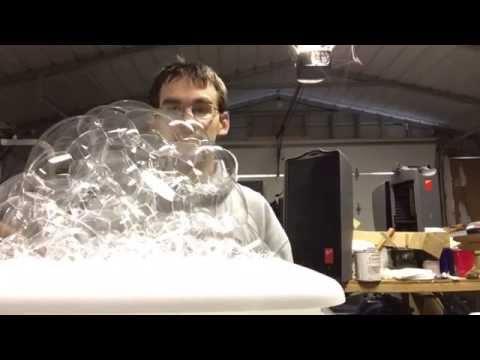 cloud print bubbles machine
