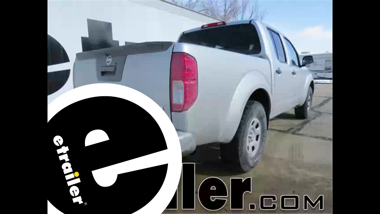 2014 Nissan Frontier Trailer Hitch Wiring - Electrical Work Wiring ...