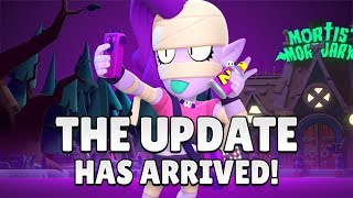 Brawl-o-ween Update New Brawler Emz! I New Game Mode Graveyard Shift | Brawl Stars Halloween Special