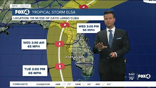 Tropical Storm Warning In Effect For SWFL