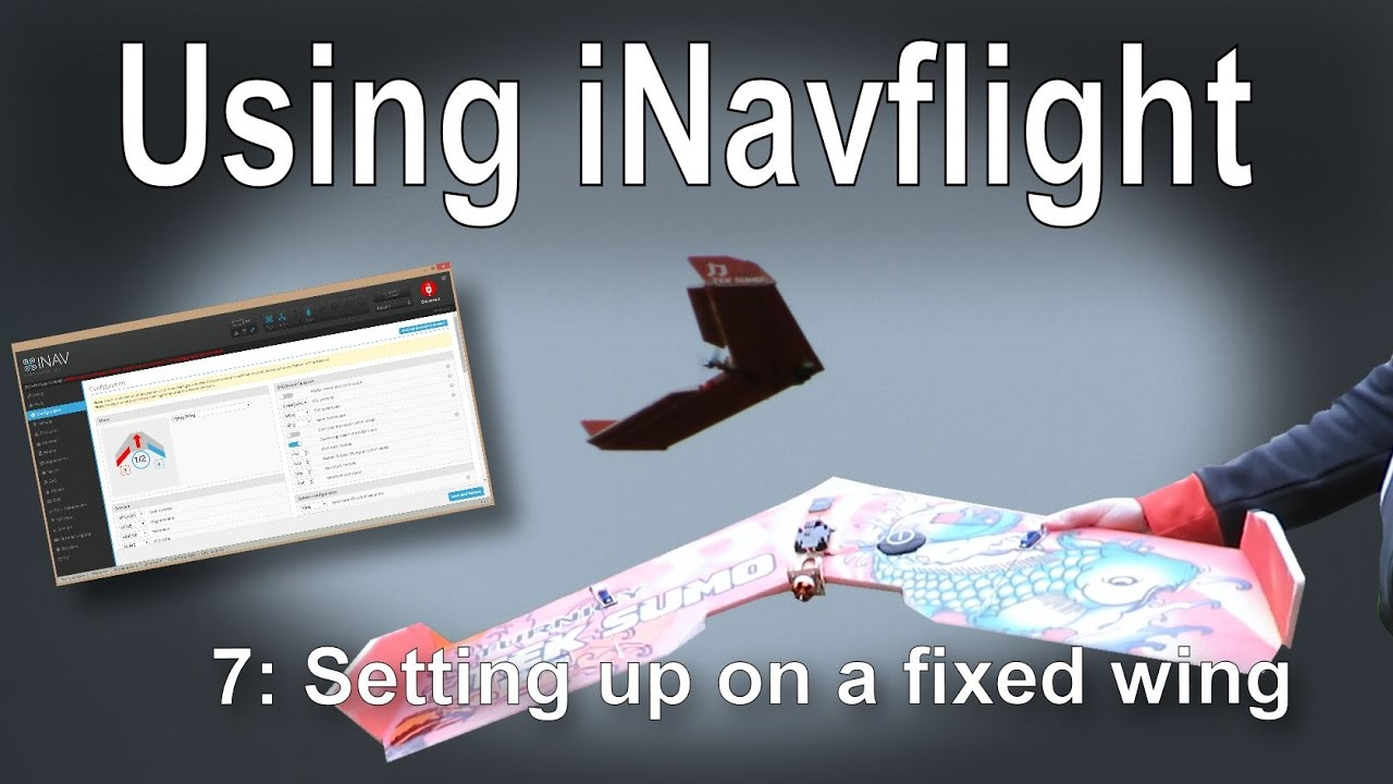 Building A 'Smart' Plane with iNav - Article #5 - HobbyKing News