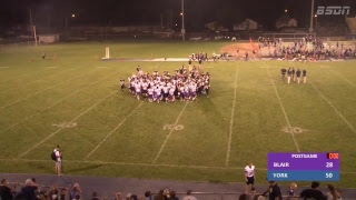 BSDN Live - Blair @ York - Football - 2018