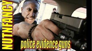 Police Evidence Guns