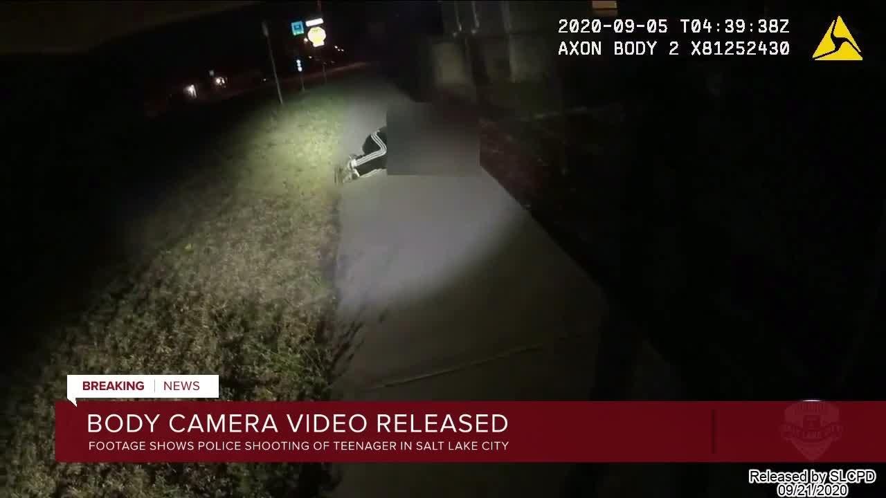 Bodycam Released:  Salt Lake City Police Shoot Autistic Teen