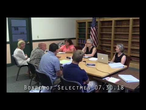 Board of Selectmen 07.30.18