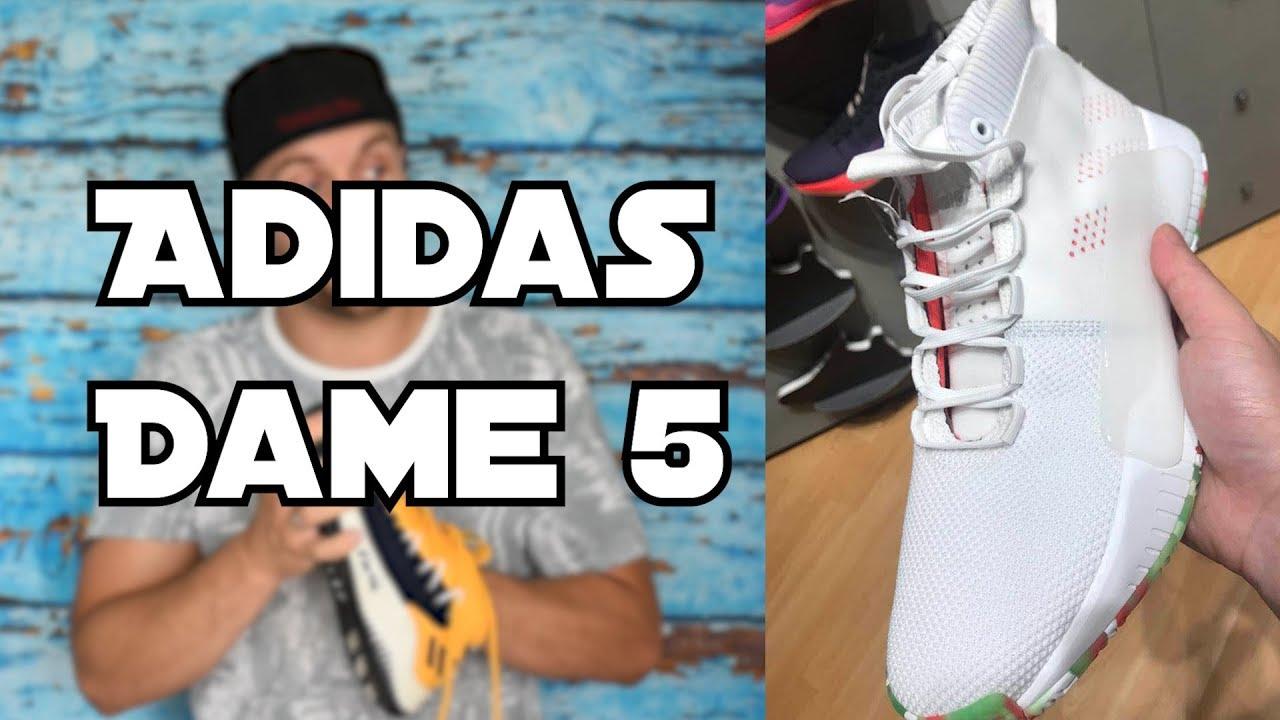 release date: 3a366 d9ffc Adidas Dame 5 - erster Eindruck - Alles zum Release