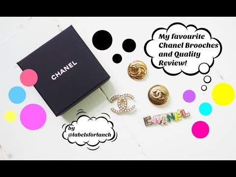 My favourite Chanel brooches! Where I got them and review video!!!