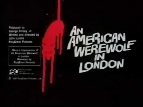 Allison's Written Words - #FlashbackFriday: An American Werewolf In London...and Paris!