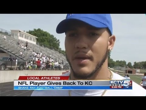 Former Mizzou DL Shane Ray gives back to Kansas City