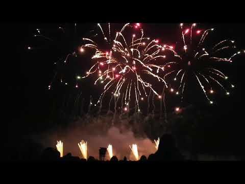 Jubilee Fireworks at the UK festival of fireworks 2017