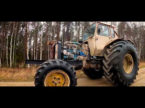 Tractor Repair. Belarus MTZ 82 ремонт трактора. Новые лoнжероны.
