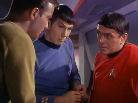 Well, Mr. Spock?