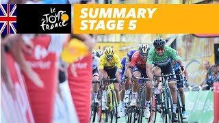 Summary - Stage 5 - Tour de France 2018
