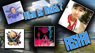 TOP 5 ROS YOUTUBERS FROM ASIA! RULES OF SURVIVAL - iBane Gaming, Private Plork SMZZ Gaming & more!