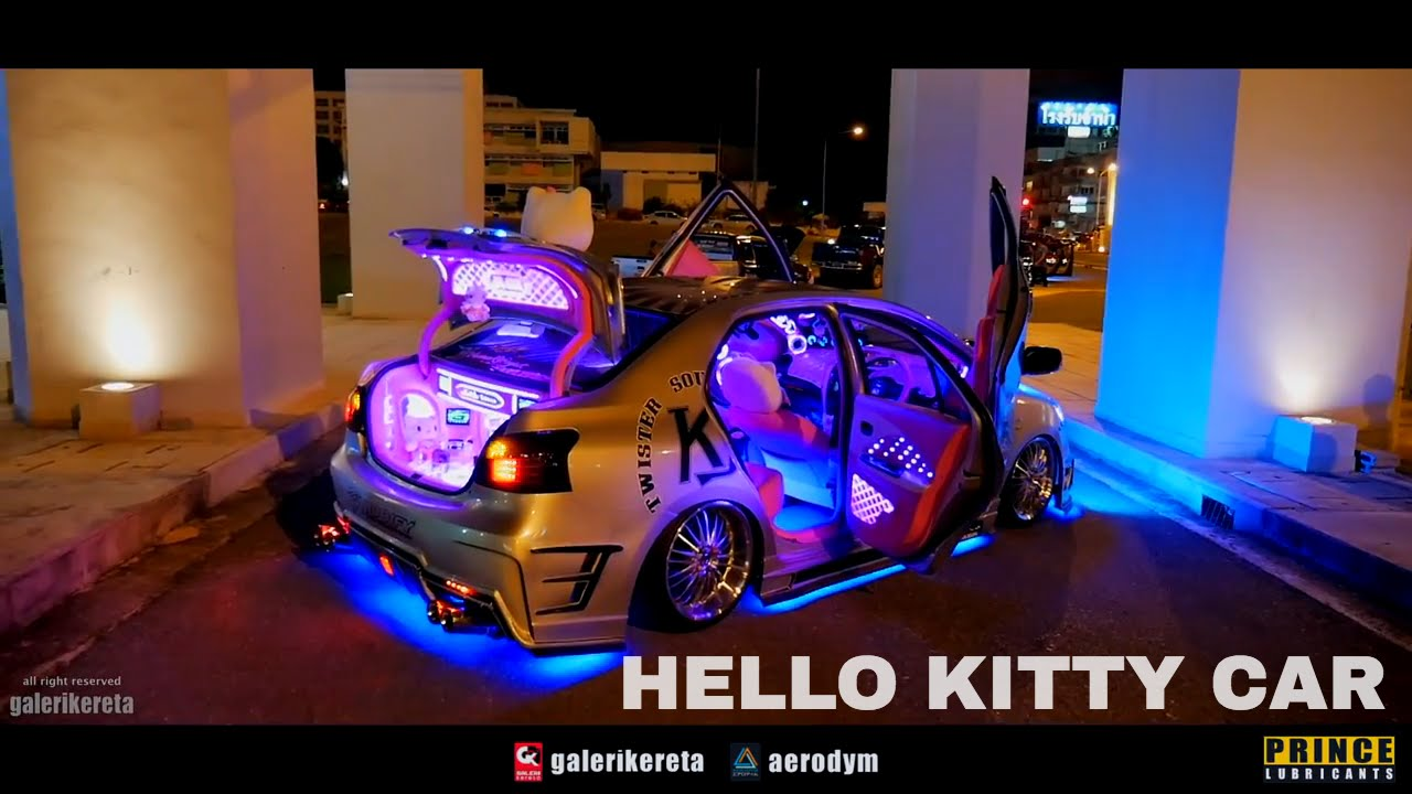 Toyota vios hello kitty