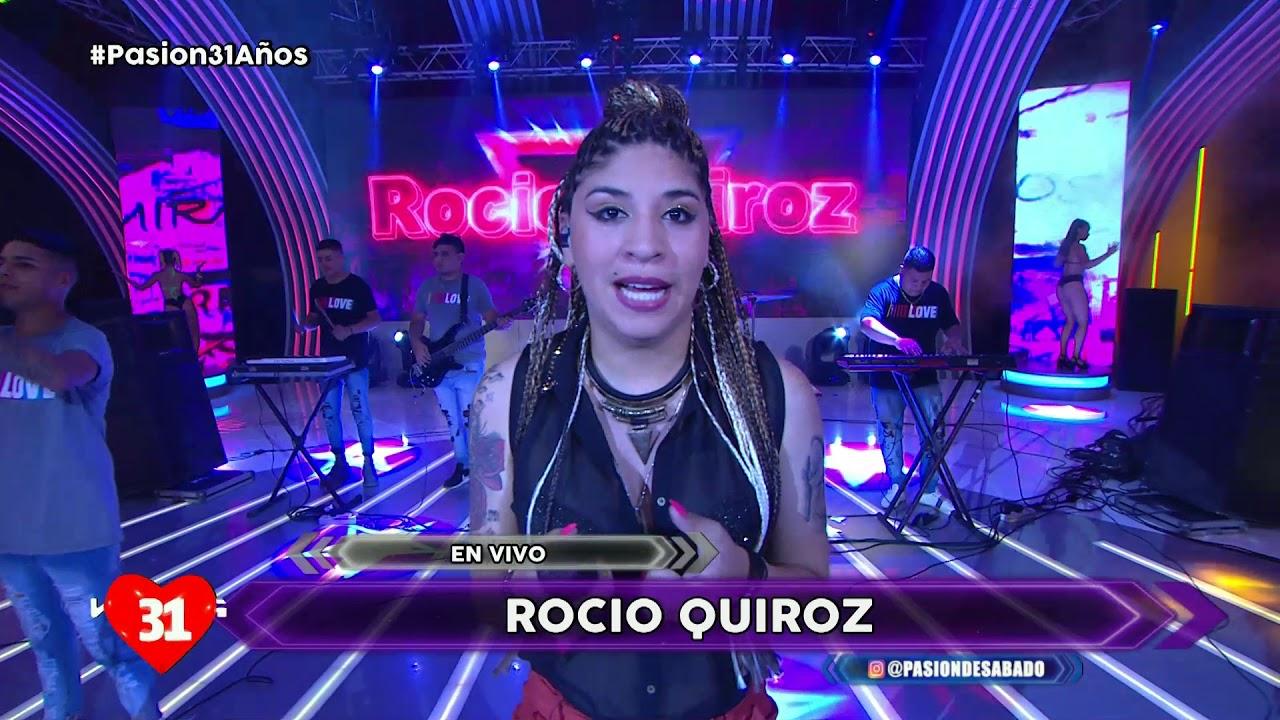 Rocio Quiroz en vivo en Pasion de Sabado 25 1 2020
