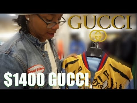 $1400 GUCCI JACKET + BEST BIRTHDAY EVER!!