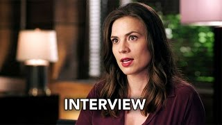 conviction abc hayley atwell interview hd