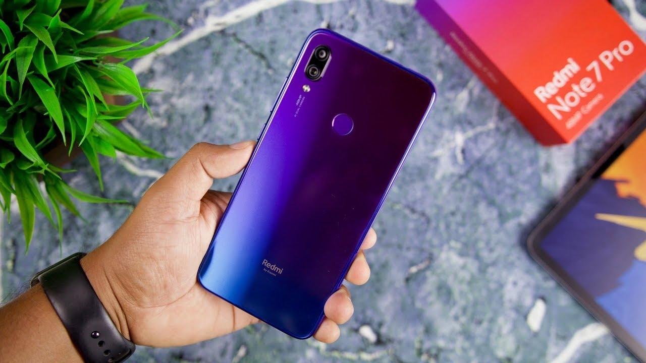 Redmi Note 7 Pro (Blue) Unboxing and Initial Impressions - YouTube
