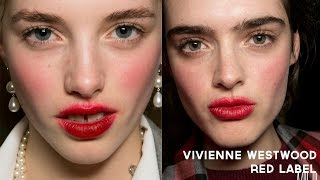 'Messy English Rose' Makeup Tutorial - inspired by Vivienne Westwood Red Label A/W 14 Thumbnail
