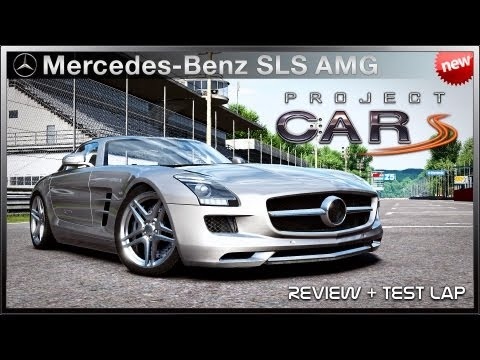 Project CARS - *NEW* Mercedes-Benz SLS AMG (Review + Test Lap)