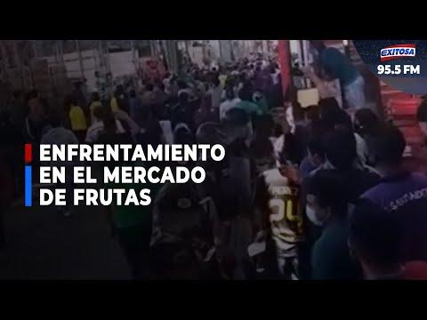 🔴🔵Mercado De Frutas: Nos Trataron Como Ambulantes, Cuando Vendemos Con Boleta
