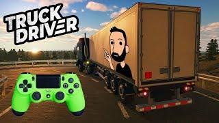 🚛 ENFIN un jeu de CAMIONS sur CONSOLES !!! - TRUCK DRIVER | Gameplay FR