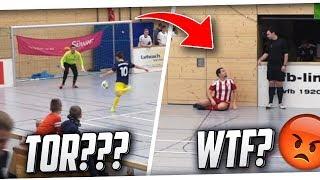 HALLENFUSSBALL! Lustige Szenen beim Hallenturnier! Tore, Fails & mehr! PMTV