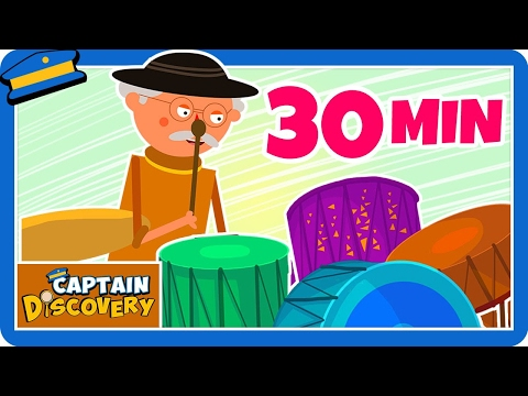 This Old Man | Popular Nursery Rhymes for Children | Captain Discovery