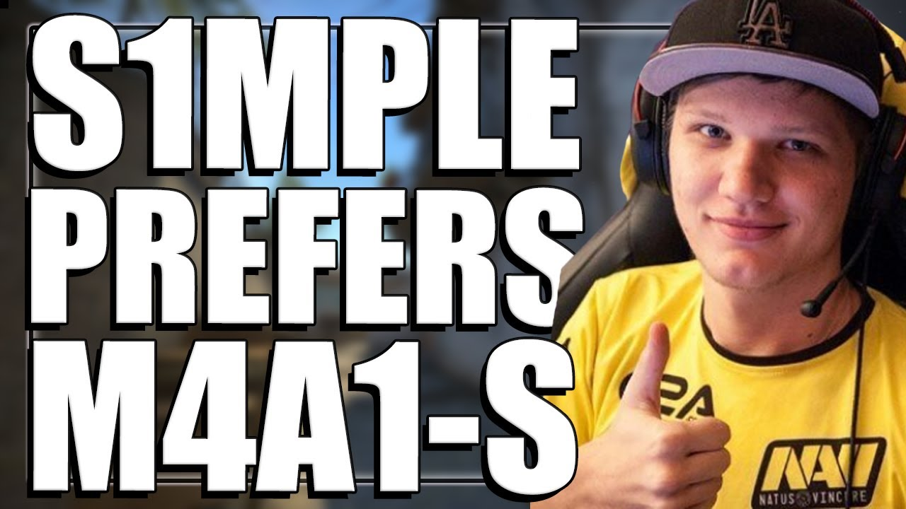 CS:GO Pros Answer: Which do you prefer, M4A4 or M4A1-S?